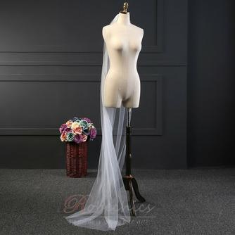 2M voile long voile simple ensemble voile net doux accessoires de mariée voile - Page 3