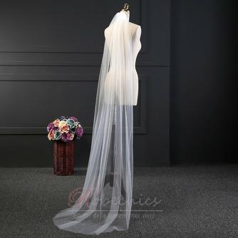 2M voile long voile simple ensemble voile net doux accessoires de mariée voile - Page 2