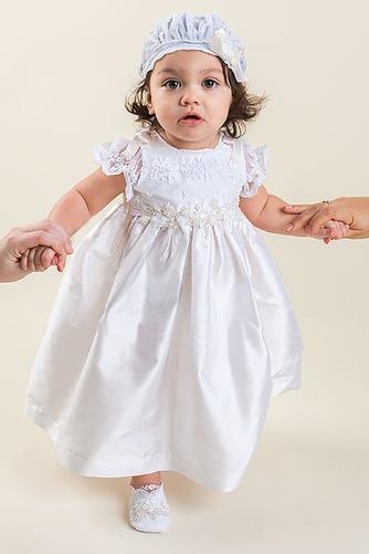 Robe de baptême Naturel taille Appliques Longueur Cheville Princesse - Page 2