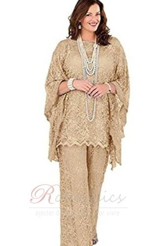 Robe de mère pantalon de costume Grandes Tailles Appliques Longueur ras du Sol - Page 7