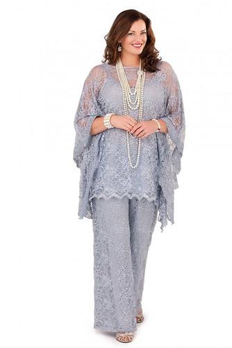 Robe de mère pantalon de costume Grandes Tailles Appliques Longueur ras du Sol - Page 2