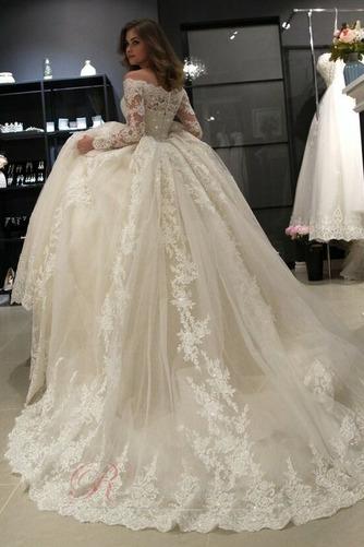 Robe de mariée Sage Automne Elégant Zip Perle Longue - Page 3