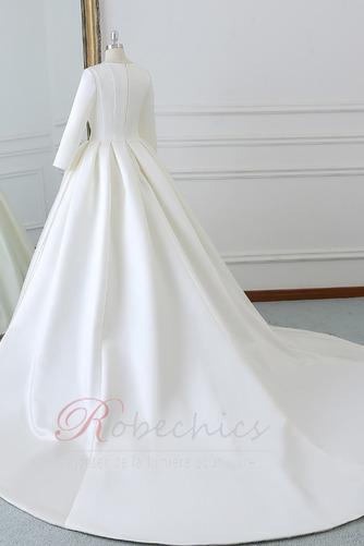 Robe de mariée Naturel taille Norme Plage Au Drapée Longue Automne - Page 2