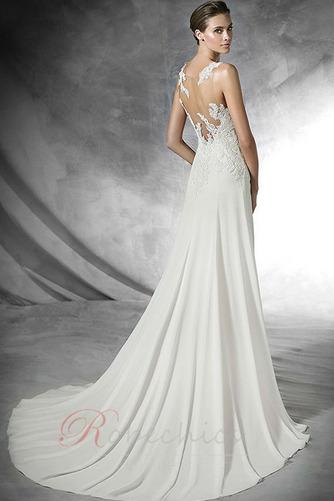 Robe de mariée Traîne Courte Gazer Sans Manches vogue Printemps - Page 2