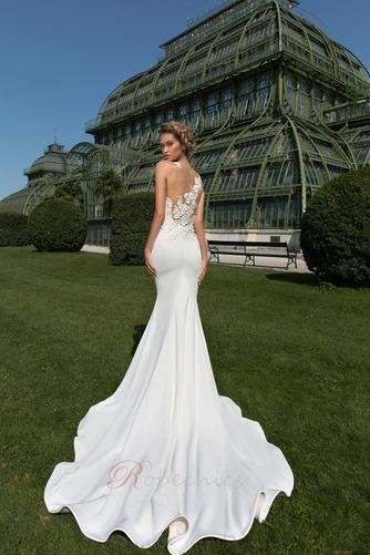 Robe de mariée Dos nu Appliquer Moderne Exquisite Traîne Moyenne - Page 2