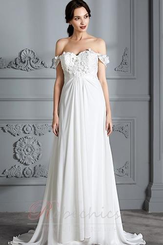 Robe de mariée Épaule Dégagée Jardin Longue taille haut Médium - Page 2