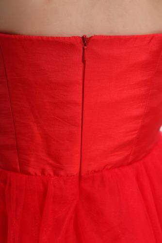 Robe de Cocktail Haut Bas Zip Norme aligne taille haut Informel - Page 6