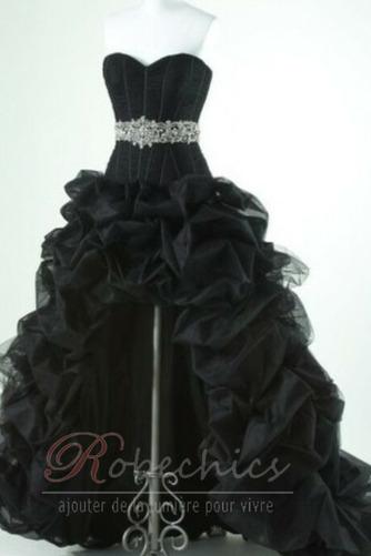 Robe de Bal Taille chute Printemps Romantique Perle Sans Manches - Page 5