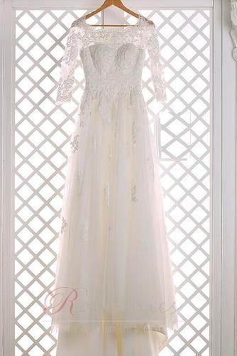 Robe de mariée Elégant Cathédrale aligne Manquant Dentelle Train de petit - Page 5