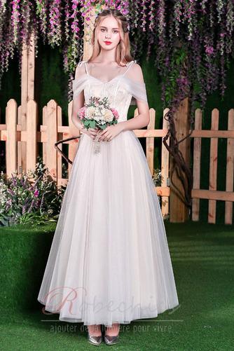Robe de mariée Plage Épaule Dégagée A-ligne Appliques Manquant - Page 3