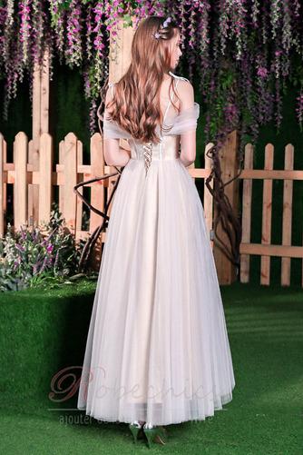Robe de mariée Plage Épaule Dégagée A-ligne Appliques Manquant - Page 2