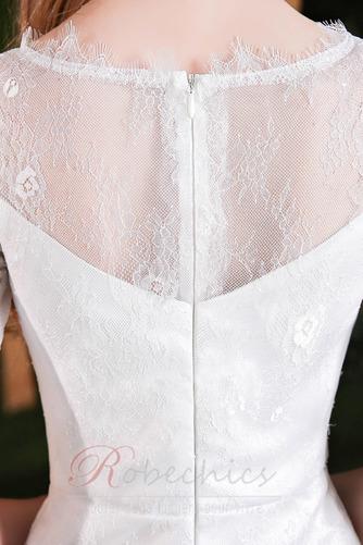 Robe de mariée Elégant Glissière Naturel taille Sirène Longueur Mollet - Page 5
