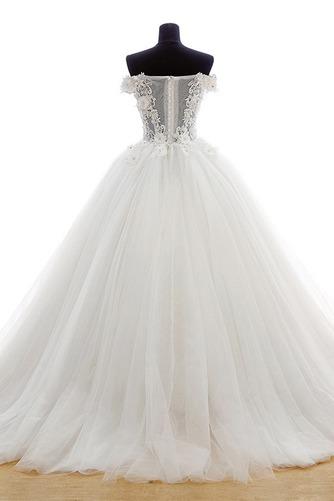 Robe de mariée Tulle Eglise Traîne Courte Formelle Épaule Dégagée - Page 2