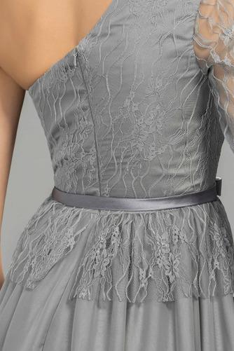 Robe de Soirée Manche Asymétrique Moderne Fermeture éclair Printemps - Page 5