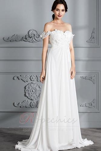 Robe de mariée Épaule Dégagée Jardin Longue taille haut Médium - Page 4