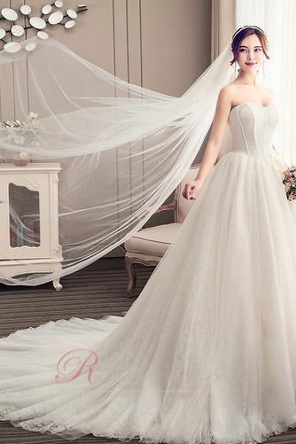 Robe de mariée Bustier A-ligne Automne Chaussez Traîne Moyenne - Page 3