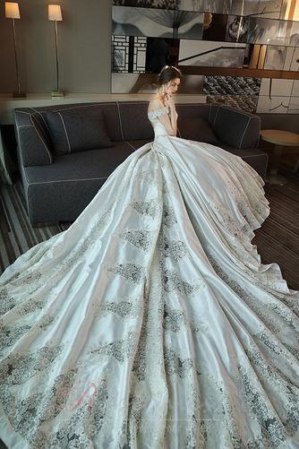 Robe de mariée Trou De Serrure Traîne Royal Naturel taille Couvert de Dentelle - Page 6