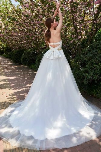 Robe de mariée Dos nu Sans bretelles Tulle Elégant Ample & Ornée - Page 2