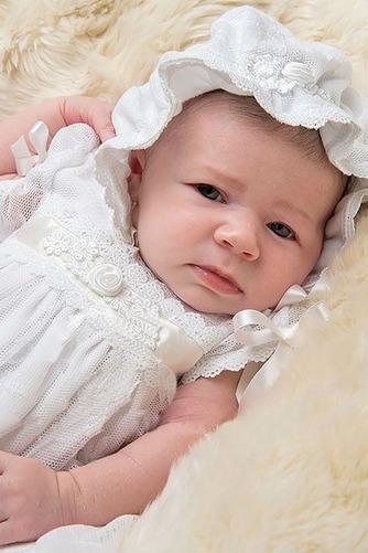 Robe de baptême Princesse Printemps Longue Empire Cérémonial Haute Couvert - Page 3
