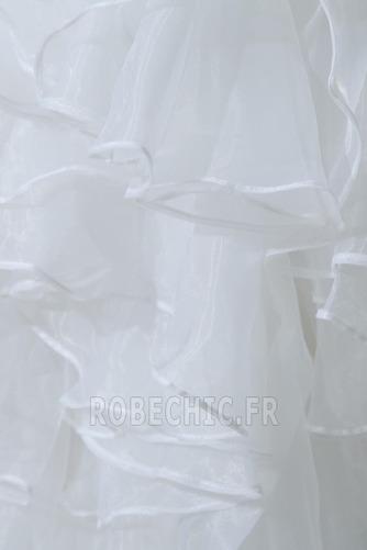 Robe de mariée Satin Élastique Taille chute Dramatique Asymétrique - Page 8