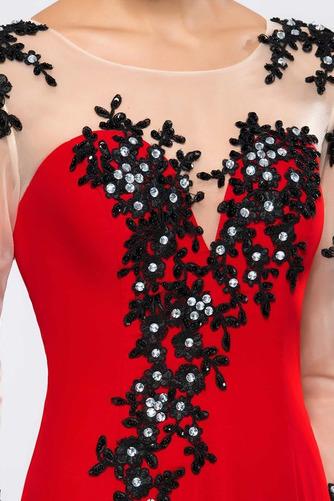Robe de Soirée Sirène Naturel taille Perle Printemps Longueur Cheville - Page 7