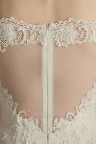 Robe de mariée De plein air Naturel taille Manche de T-shirt Traîne Courte - Page 4