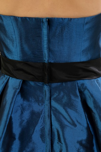Robe de Cocktail Bustier Manquant Naturel taille Sans Manches - Page 7