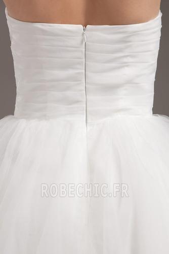Robe de mariée semi-halter Été Couvert de Tulle Exquisite Nœud à Boucles - Page 7