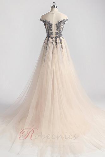 Robe de Bal Traîne Courte Zip Luxueux Norme a ligne Cristal - Page 7