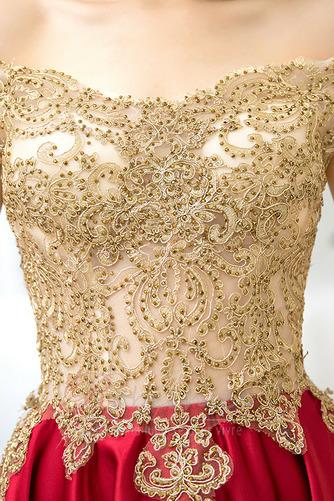 Robe de Cocktail Perle Glamour Épaule Dégagée Manche Courte Chaussez - Page 5