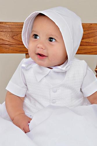 Robe de baptême Bouton Longueur au sol Manche Courte Long Princesse - Page 2