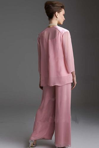 Robe de mère pantalon de costume Automne Manche de T-shirt Epurée - Page 2