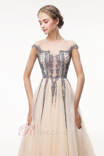 Robe de Bal Traîne Courte Zip Luxueux Norme a ligne Cristal - Page 4