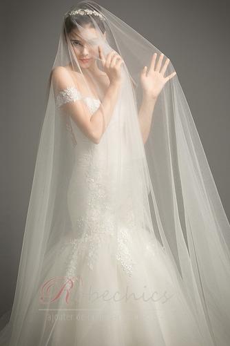 Robe de mariée Dos nu Manche Courte Sirène Mancheron Formelle - Page 5