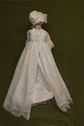 Robe de baptême Princesse Haute Couvert 1/2 Manche Petites Tailles - Page 2