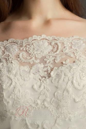 Robe de mariée De plein air Naturel taille Manche de T-shirt Traîne Courte - Page 3