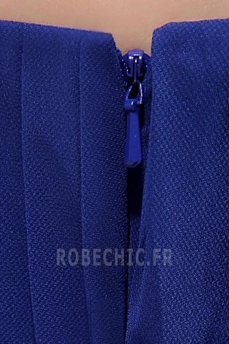 Robe de Bal Chiffon Printemps Zip Fourchure Latérale Au Drapée - Page 8