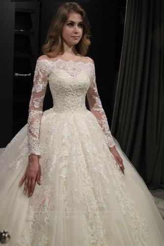 Robe de mariée Sage Automne Elégant Zip Perle Longue - Page 2