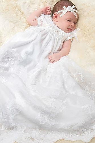 Robe de baptême Princesse Printemps Longue Empire Cérémonial Haute Couvert - Page 1