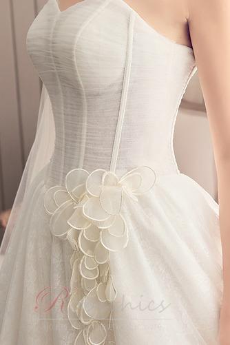 Robe de mariée Bustier A-ligne Automne Chaussez Traîne Moyenne - Page 5
