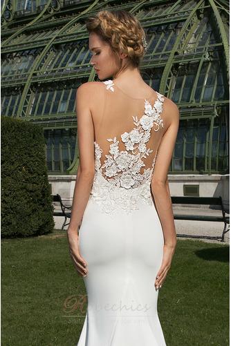Robe de mariée Dos nu Appliquer Moderne Exquisite Traîne Moyenne - Page 3