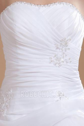 Robe de mariée Plage Avec Jacket Manquant Sans bretelles Pailleté - Page 7