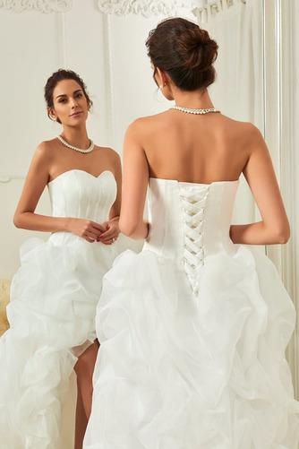 Robe de mariée Asymétrique vogue Plage Asymétrique Automne Naturel taille - Page 4
