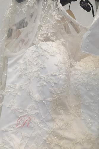 Robe de mariée Manche Longue Cathédrale Été Naturel taille Zip - Page 3