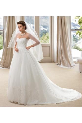 Robe de mariée Dos nu Formelle Longue Tissu Dentelle Sans Manches - Page 2