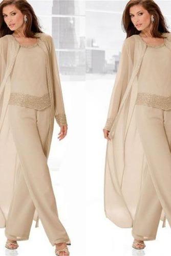 Robe de mère pantalon de costume Attrayant Naturel taille Manche Bishop - Page 1