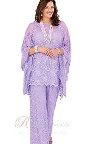 Robe de mère pantalon de costume Grandes Tailles Appliques Longueur ras du Sol - Page 5