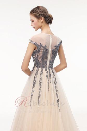 Robe de Bal Traîne Courte Zip Luxueux Norme a ligne Cristal - Page 5