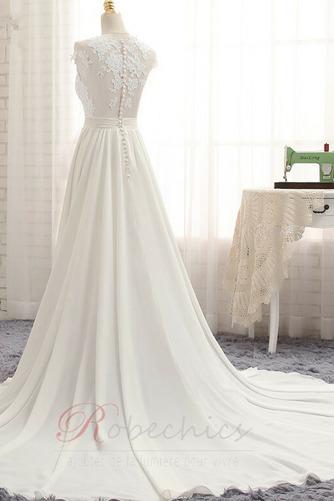 Robe de mariée Train de balayage Norme Sans Manches Naturel taille - Page 2