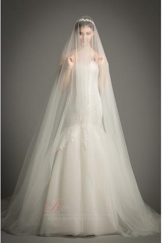 Robe de mariée Dos nu Manche Courte Sirène Mancheron Formelle - Page 2